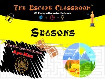 Seasons Escape Room   The Escape Classroom