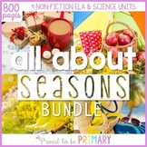 Seasons Non-Fiction ELA & Science {Fall, Winter, Spring, S