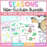 Seasons Non-Fiction ELA & Science {Fall, Winter, Spring, S