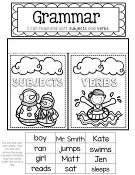 Seasons First Grade Journeys Print and Go Activities