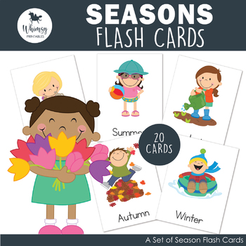 Seasons flashcards pdf