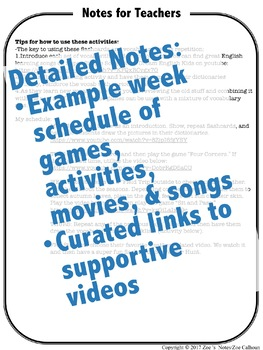 Seasons Flash Cards, Activities, and Games for English Language Learners