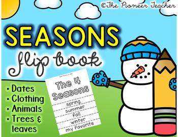 Seasons Flip Book