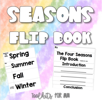 Seasons Flip Book
