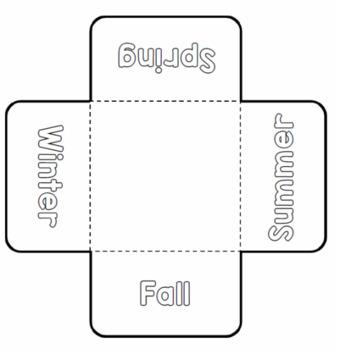 Seasons Foldable