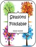 Seasons Foldable - Upper Grades