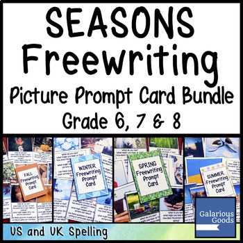 Seasons Freewriting Prompt Cards