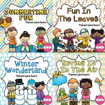 Seasons Game Board BUNDLE!