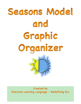 Seasons Graphic Organizer and Model