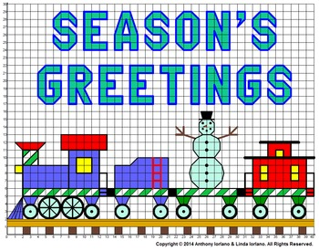 Seasons Greetings Mystery Picture