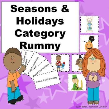 Seasons & Holidays Category Rummy