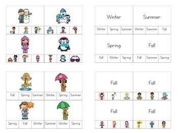 Seasons Independent Tasks