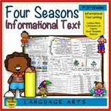 Seasons:  Informational Text Writing