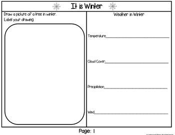 Seasons:  Informational Text Writing