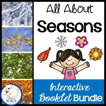 Seasons: Interactive Booklets Bundle