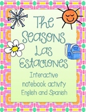 Seasons Interactive Notebook Activity