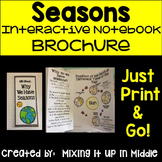 Seasons Interactive Notebook Brochure