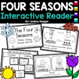 Seasons Interactive Reader- Winter, Spring, Summer and Fall