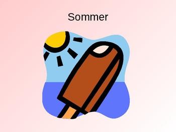 Seasons / Jahreszeiten / Dates