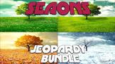 Seasons Jeopardy Bundle (Google Slides)