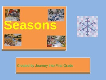Seasons (Journeys Common Core Reading Series)