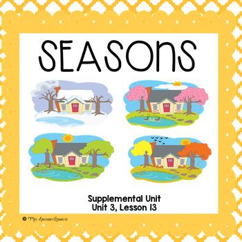 Seasons- First Grade Supplemental Unit