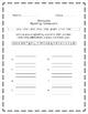 Seasons, Journeys® First Grade, Unit Three Spelling Homework