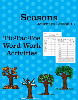 Seasons Journeys Lesson 13