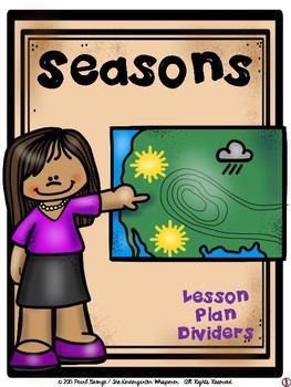Seasons Lesson Plan Dividers