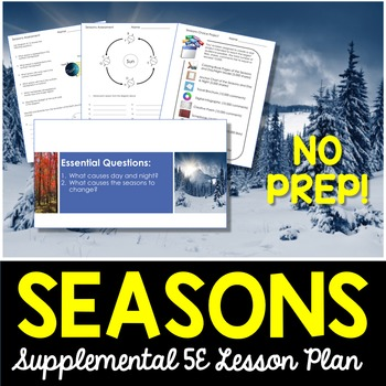 Seasons - Supplemental Lesson - No Lab