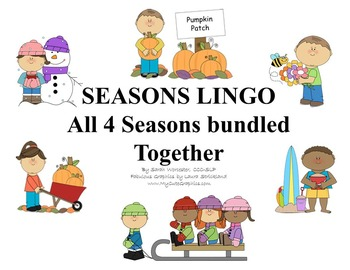 Seasons Lingo Bundle - All 4 Lingo Games in one Bundle