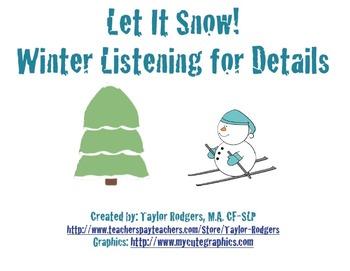 Seasons Listening for Details Bundle!