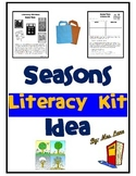 Seasons Literacy Kit Idea