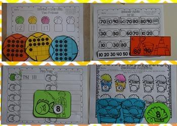 Seasons Math Centers {Bundle} CCSS