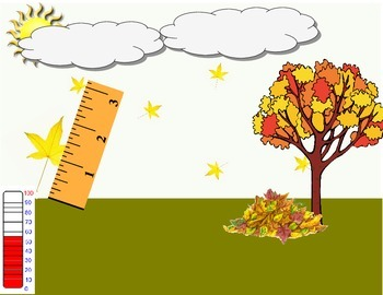 Seasons- Math and Science Measurement Activity