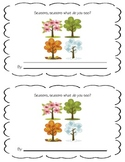Seasons Mini Book