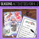 Seasons Sort and Activities