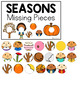 Seasons Missing Pieces Task Box   Task Boxes for Special Education