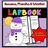Seasons, Months, Weather Lapbook