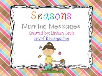 Seasons - Morning Messages