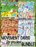 Fall Winter Spring Summer Movement Cards for Preschool and Brain Break