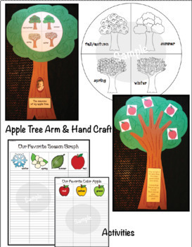 Seasons Of My Apple Tree Activities & Emergent Reader