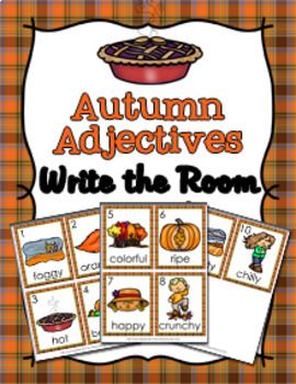 Year Long Seasons Parts of Speech Write the Room Bundle