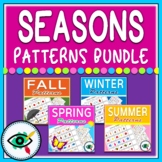 Seasons Patterns Activities Bundle