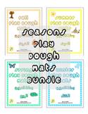 Seasons Play Dough Mats Bundle