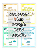 Seasons Play Dough Mats Bundle