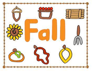 Seasons Play-doh Mats Bundle