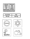 Seasons Poster activity