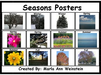 Seasons Posters