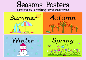 Seasons Posters - Set 2